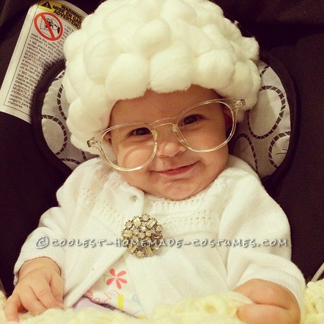 cute baby halloween costume sophia from the golden girls - Halloween Costume For Baby Girls