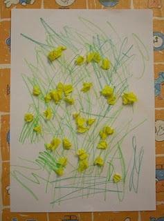 lavoretto di attività creative per bambini