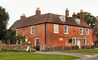 Chawton Cottage, home of Jane Austen. Great words come from unassuming places.