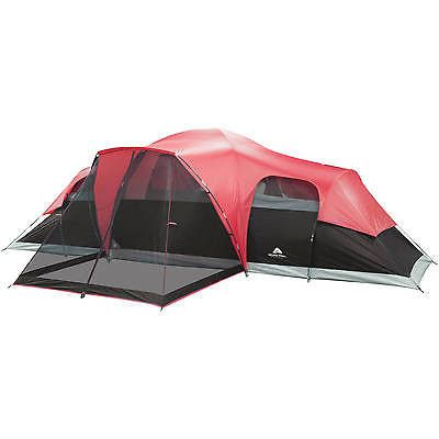 C&ing Tent 10 Person Large Cabin Easy Setup Family Shelter Hiking Outdoor NEW  sc 1 st  Pinterest & Camping Tent 10 Person Large Cabin Easy Setup Family Shelter ...