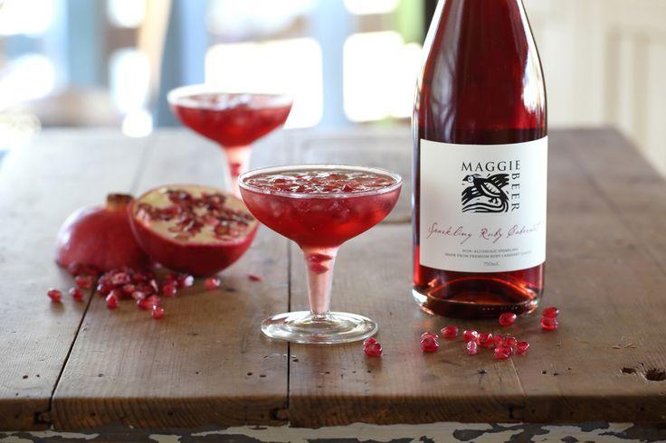 Sparkling Ruby Cabernet Gin Fizz - Maggie Beer