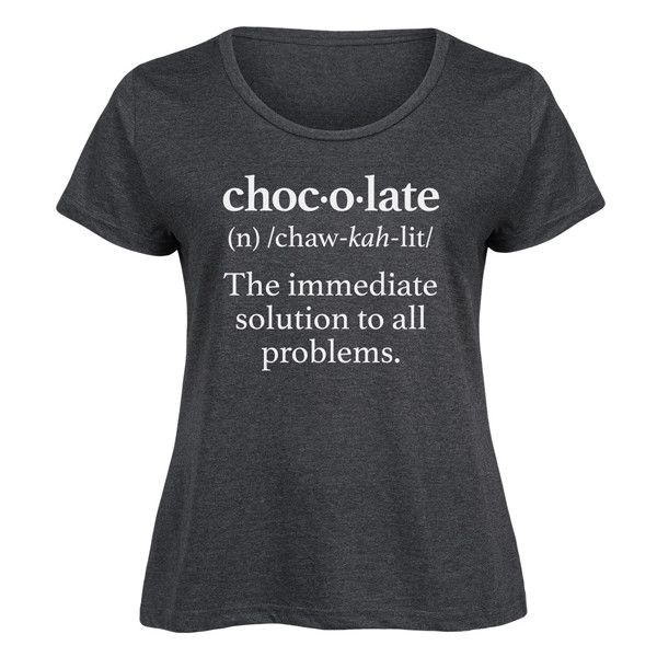 Food Fight Plus Heather Charcoal Chocolate Definition Scoop Neck Tee ($17) ❤ liked on Polyvore featuring plus size women's fashion, plus size clothing, plus size tops, plus size t-shirts, plus size, heather t shirt, charcoal gray t shirt, plus size t shirts, plus size womens tees and heather tee