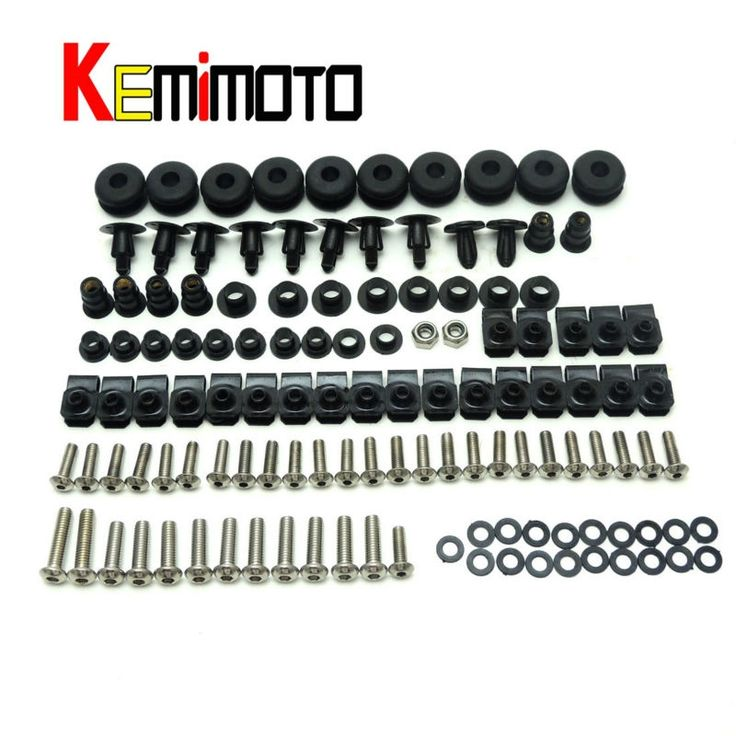 12.99$  Watch now - http://alil0e.shopchina.info/go.php?t=32712318264 - For Yamaha R6 Motorcycle Complete Fairing Bolts Kit YZF R6 1999 2000 2001 2002 One Set  #buyininternet