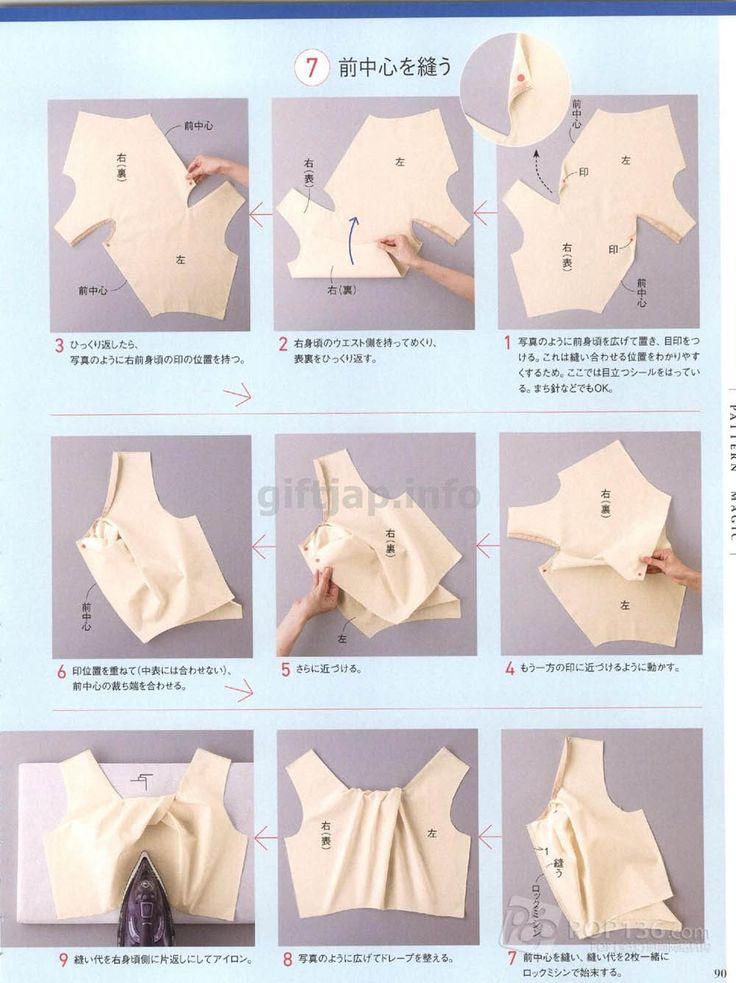 Моделирование по книге Томоко Накамичи twist and pleats