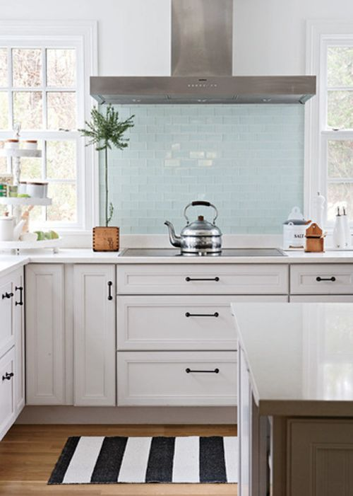 Position of windows in the kitchen