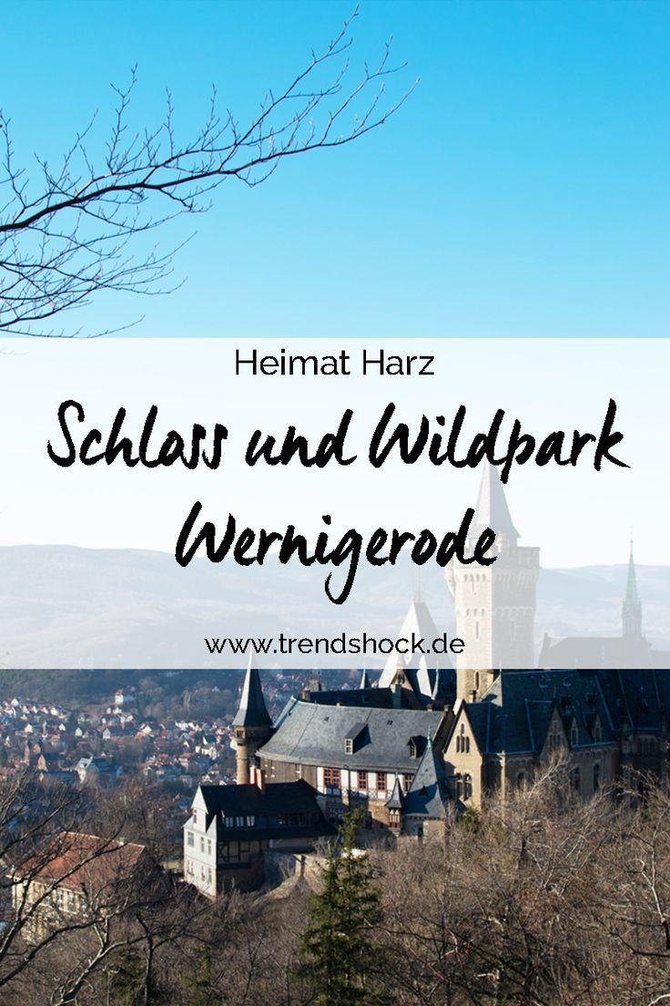 Heimat Harz Schloss und Wildpark Wernigerode Wandern mit Kind und Baby Harzer Wandernadel Tierpark Wildgehege Christianental Christianen Tal Goslar Germany vacation hiking wildlife