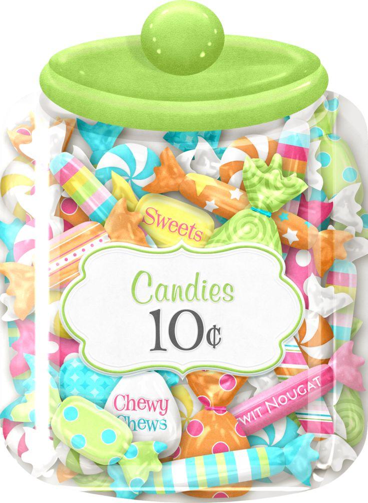 cards pinterest candy jars clip art. Black Bedroom Furniture Sets. Home Design Ideas