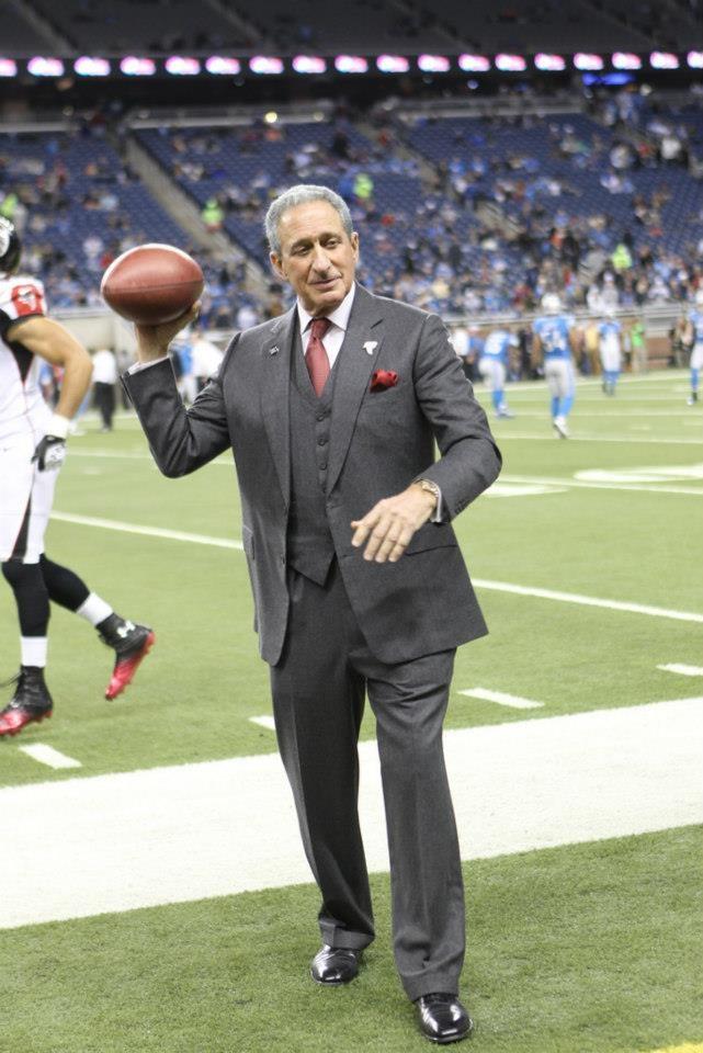 Falcons Owner & Chairman Arthur Blank