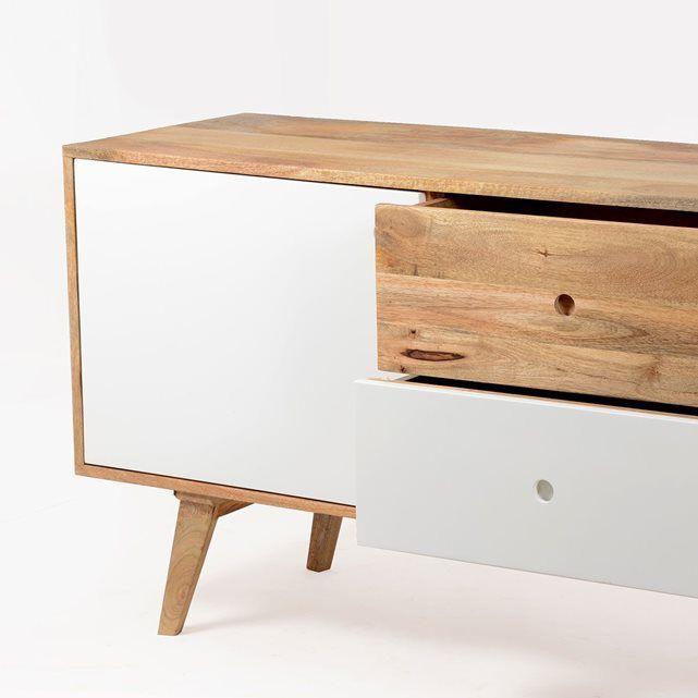 Buffet bas scandinave en bois ArtiQ  |  BT0528V