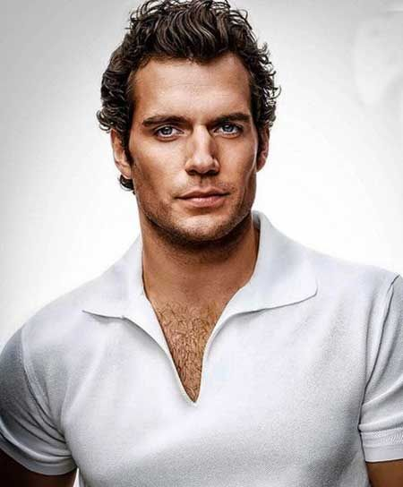 Curly Hairstyles for Men pics