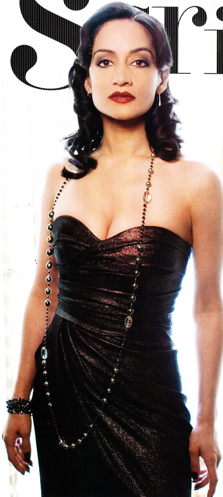 Television actress Archie Panjabi.   She's boss on The Good Wife!!