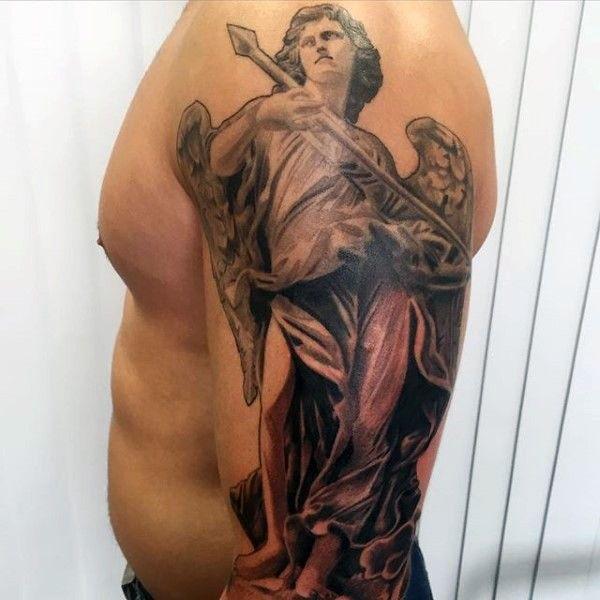 The 95 Best Guardian Angel Tattoos For Men: 100 Best Angel Tattoos For Men And Women