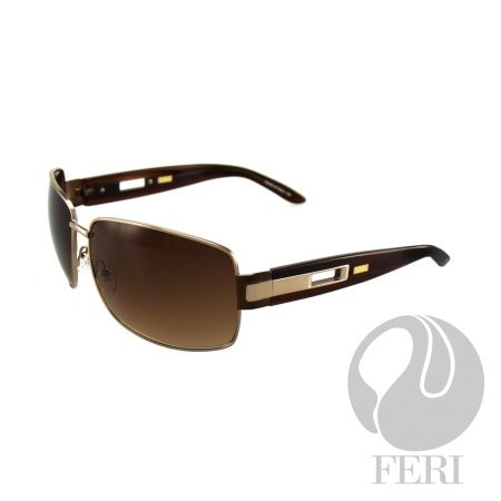 FERI Sidney - Brown- Manufactured in Italy, made of Monel, UV 400 Protection.  $652  #sunglasses #shades