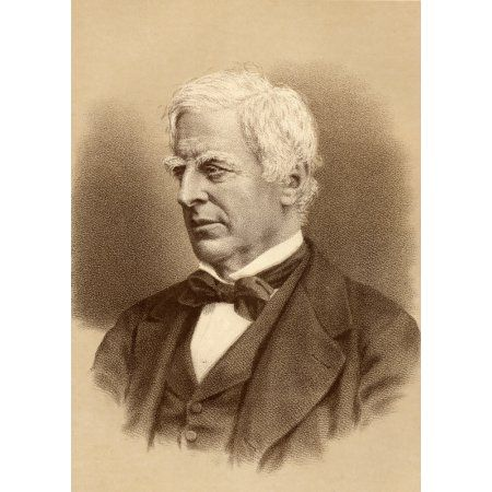Robert Lowe 1St Viscount Sherbrooke 1811-1892 Statesman Chancellor Of The Exchequer 1868-73 And Home Secretary 1873-4 From A Photograph From The London Stereoscopic Co Canvas Art - Ken Welsh Design P