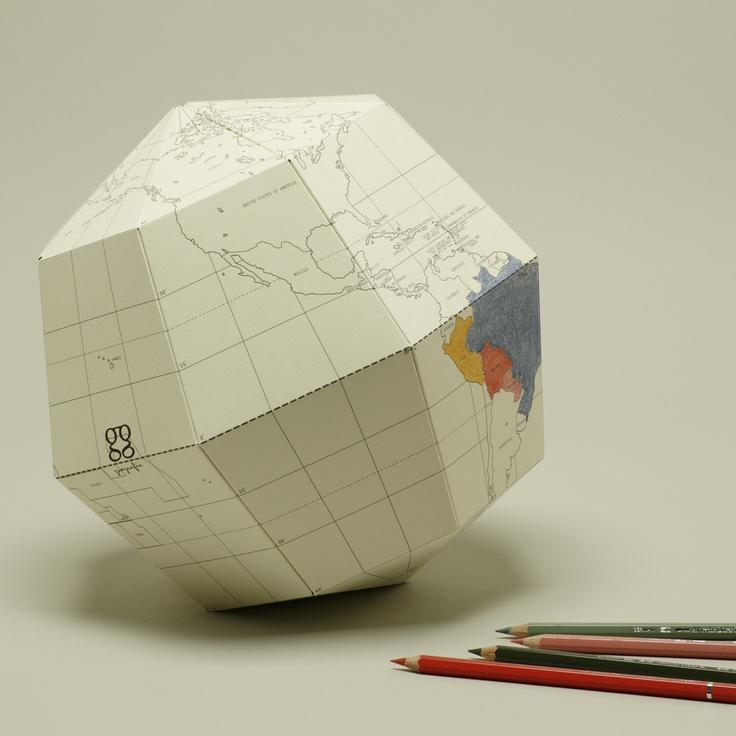 colorable globe