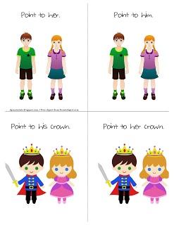 Ms. Lanes SLP Materials: Grammar: Receptive Identification of Pronouns