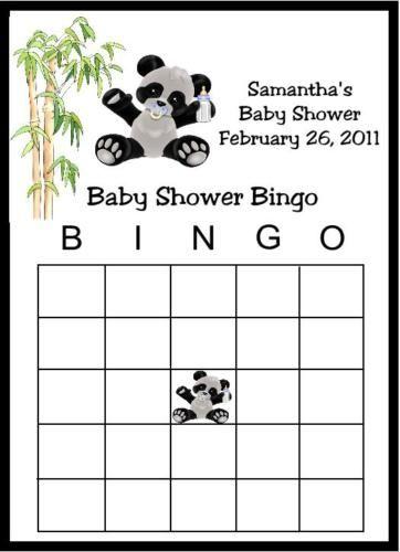 Panda baby shower