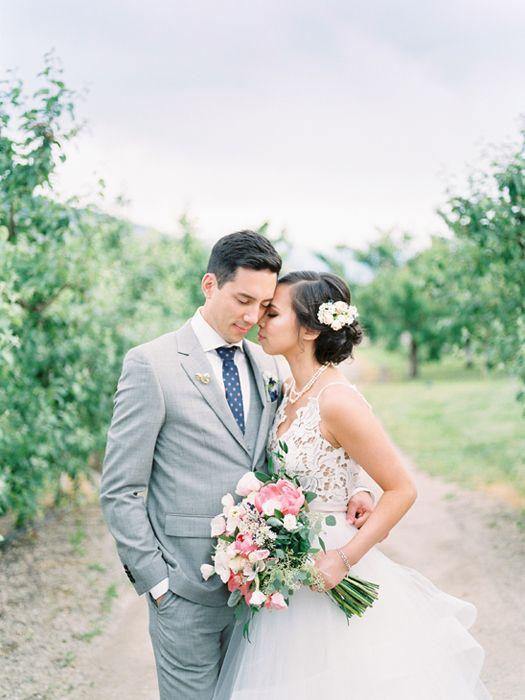 Gatzke Orchard wedding | weddings | bride + groom