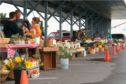 Visit Trenton Farmers Market for all your locally grown fruits & veggies.