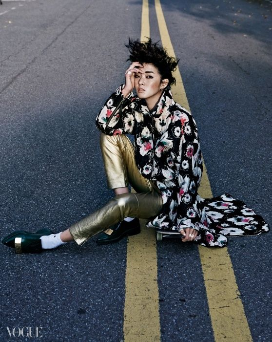 2014.12, Vogue, Kang So Young
