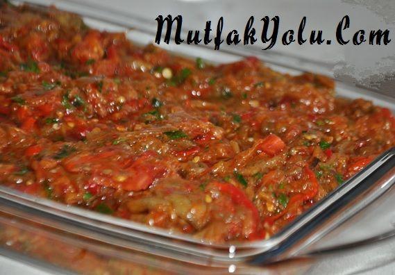 patlıcan salatası (babagannuş)