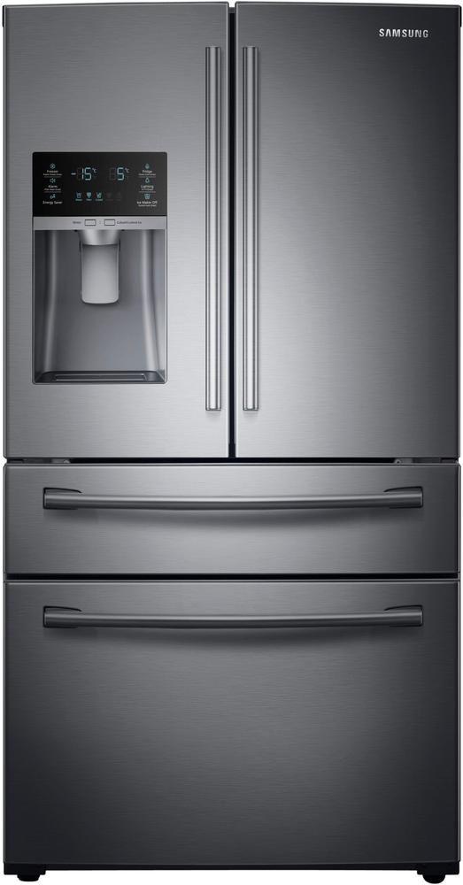 4 Door French Door Refrigerator With Counter Height