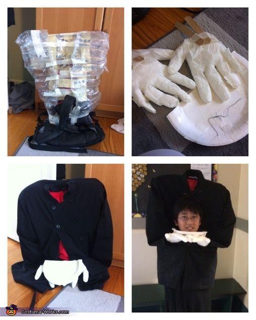 Headless Chef Homemade Costume