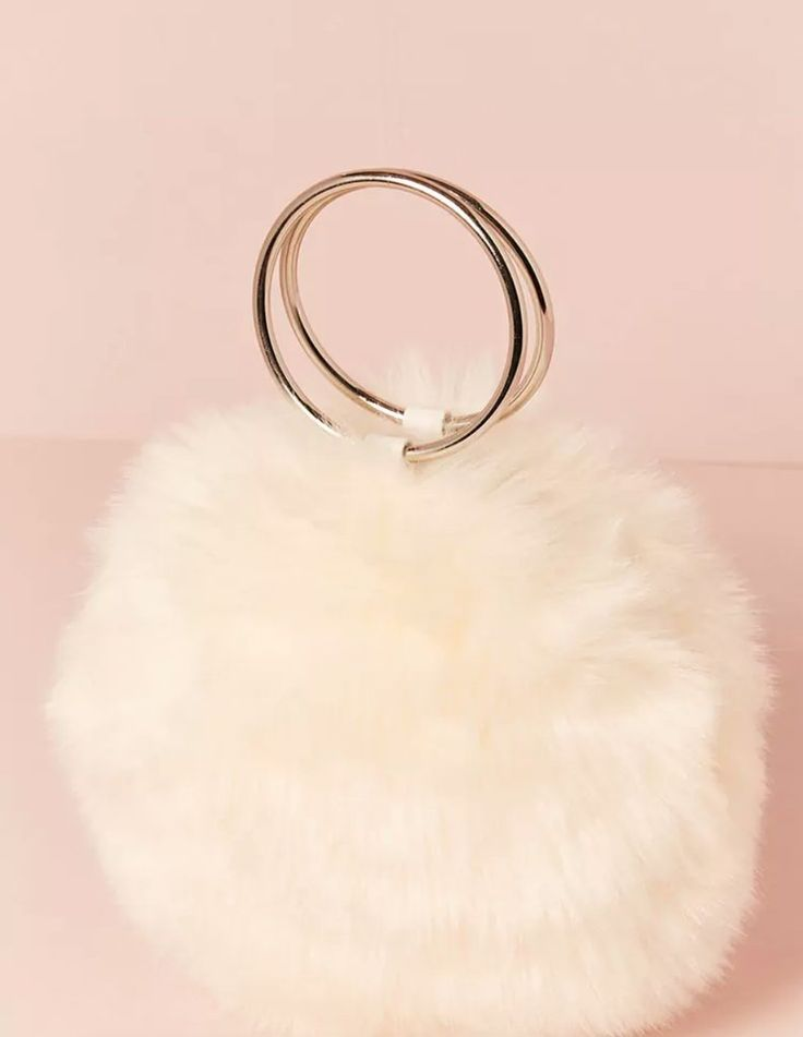 Forever 21 Faux Fur Round Bag