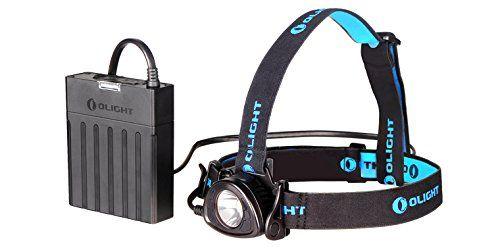 Olight Olight-H25-XML2 H25 Wave Hands Free Sensor Gesture Control Headlamp Flashlight, Black, 800-Lumen