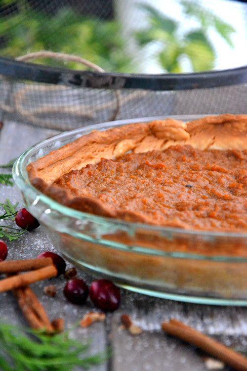 Gluten-Free Sweet Potato Pie #glutenfree