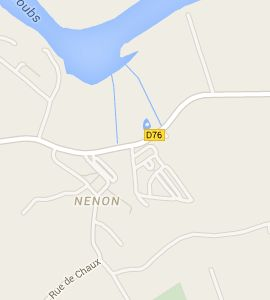 Camping Les Marronniers in Rochefort sur Nenon.