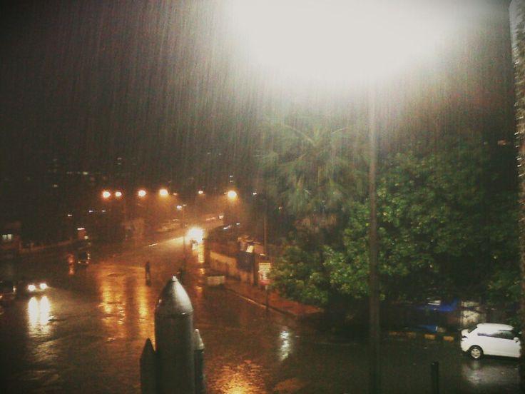 Rains...makes my city mumbai more beautiful... #photography #rains