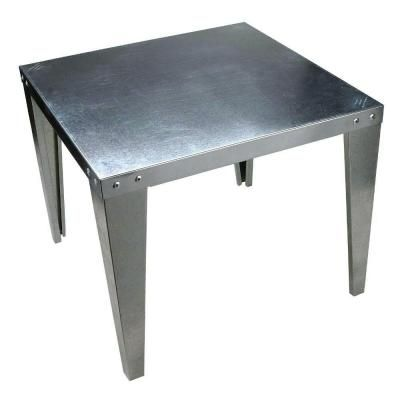 Watts Galvanized Steel Water Heater Stand-S-22 - The Home Depot