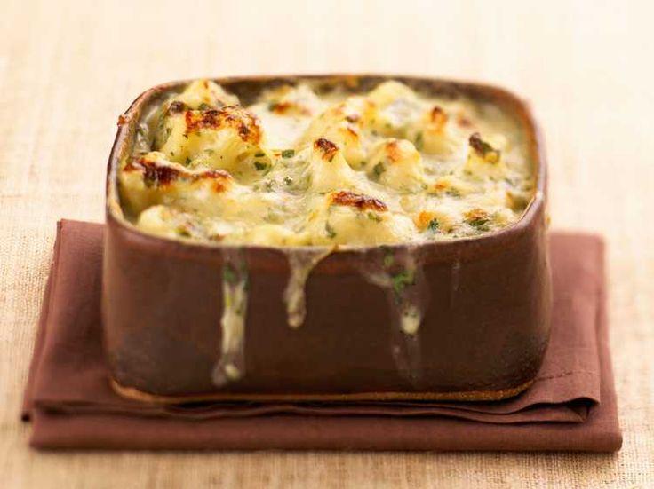 Découvrez la recette Gratin de chou-fleur à la créole sur cuisineactuelle.fr.