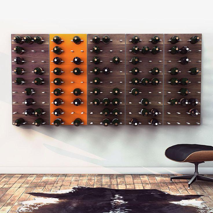 Weinregale für geschmackvolle Wände