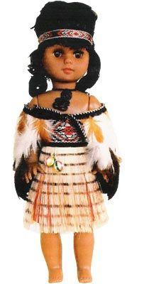 Wahine Maori Doll 5 - 35cm   Shop New Zealand