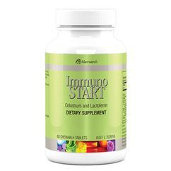 Feeling a bit run down and coming down with something? Immuno START is a amazing product designed to build, support and nurture immune health. These tasty chewable tablets are chock a block with nutrients including bivine colostrum,lactoferrin,shitake mushroom polysaccharides and citrus pectin, which work together to support the body's natural immune response function