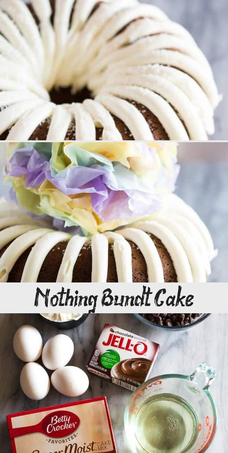 Nothing bundt in 2020 chocolate chip bundt cake nothing
