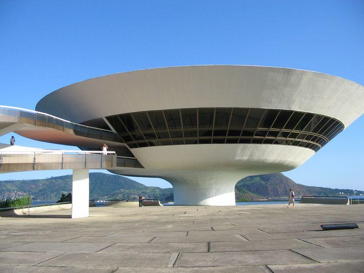 Museo de Arte Contemporaneo de Niteroi (Brasil), del arquitecto Oscar Niemeyer