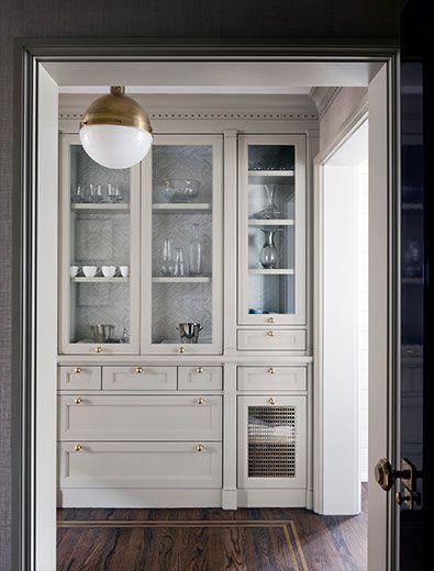 Beautiful butler's pantry