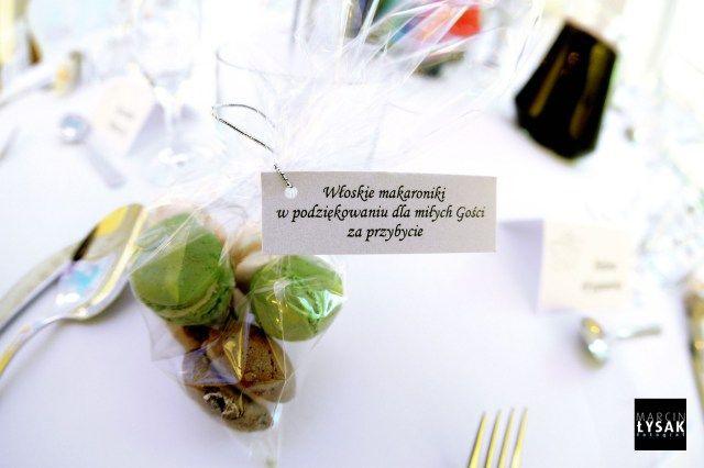 8. Roman Wedding,Guest gifts,Macarons / Rzymskie wesele,Prezenty dla gości,Makaroniki,Anioły Przyjęć