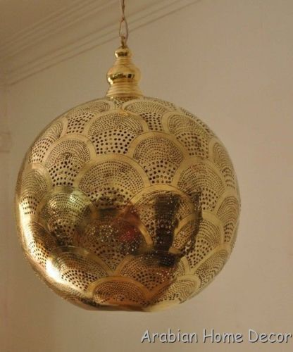 moroccan lighting pendant. moroccan handcrafted gold brass pendant hanging lamp 16 lighting