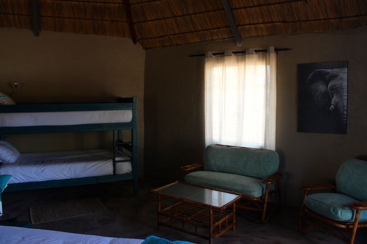 FAMILY HOLIDAYS  THE BLUE CHALET / BUNGALOW  DIMA BUSH CAMP  SOUTH AFRICA