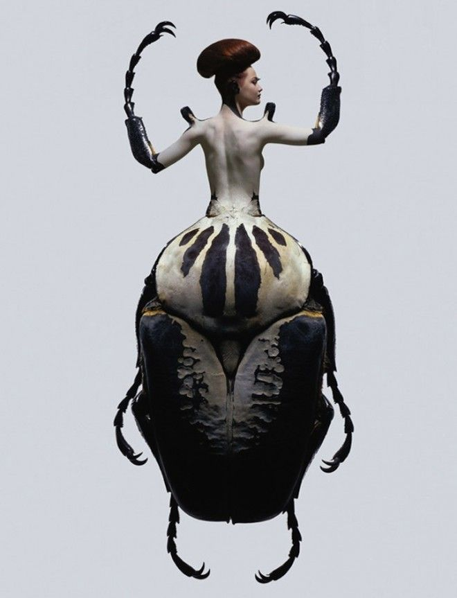 Mujeres insecto x Laurent Seroussi2