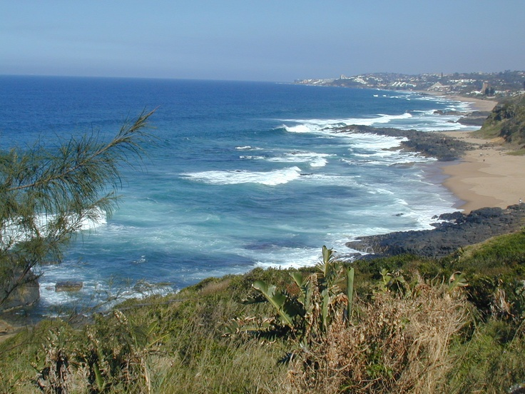 Sheffield beach in Ballito Bay, South Africa