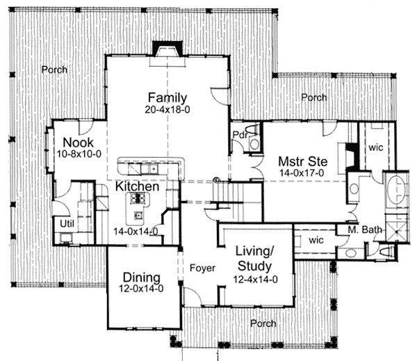 Farmhouse floor plans wrap around porch subscribe for for Stonegate farmhouse plans