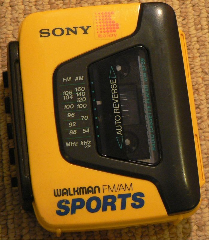 If you didn't have this growing up, you knew someone that did.  And, that person was the luckiest person you knew.  Oh the life of making mix tapes...