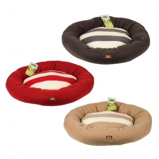 Pamper your pet with this Ultra Soft Small Pet Bed. It has a soft fleece exterior that is available in rich, natural hues to complement any home decor.