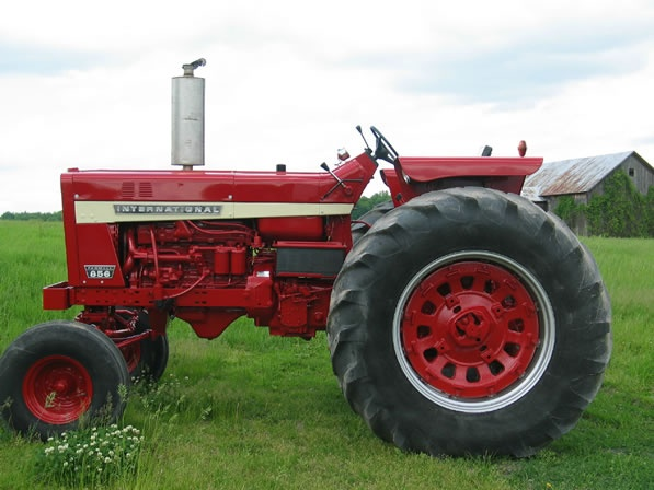Ih 856 Tractor : International tractor sweet i d ride this