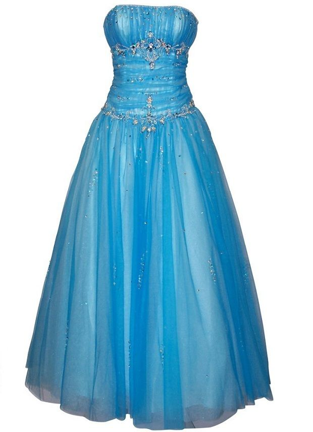 prom dresses 2014 | ... blue plus size ball gown prom dresses for junior prom formal party